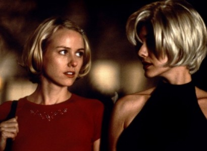 Naomi Watts and Laura Harring do the Vertigo in the David Lynch masterpiece Mulholland Drive