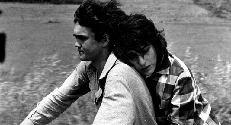 Ettore Garofolo and Anna Magnani in Mamma Roma