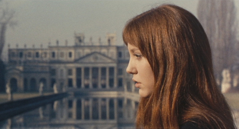 Anne Wiazemsky in Porcile