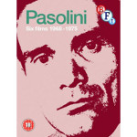 Pasolini Six Films Blu-ray box set BFI cover