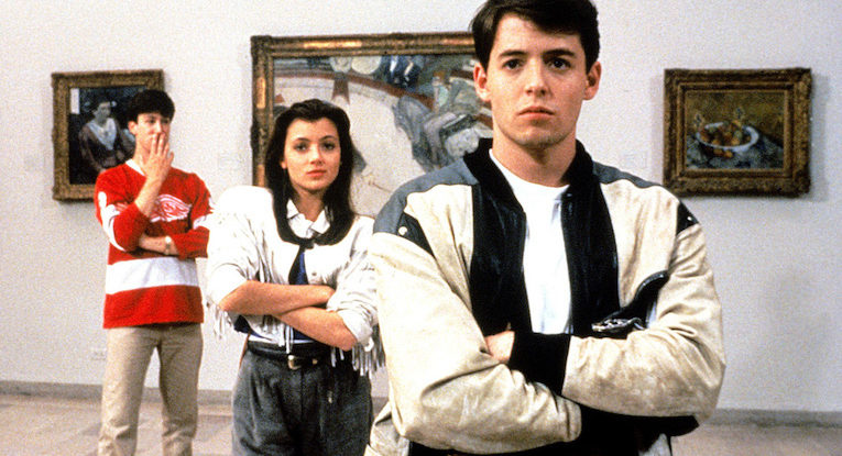FERRIS BUELLERS DAY OFF, Alan Ruck, Mia Sara, Matthew Broderick, 1986, (c) Paramount/courtesy Everett Collection