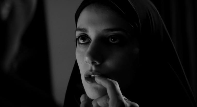In A Girl Walks Home Alone At Night, Sheila Vand plays a vampire who wanders a town called, of all things, Bad City.